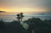 la esencia del surfista ecológico