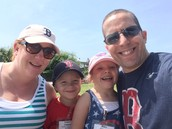 This was a field trip to Isle of Palms with the twins.  And, yes, we are all Boston Red Sox fans (or are forced to be..)