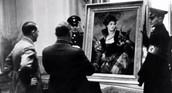 Hitler Examining Stolen Art