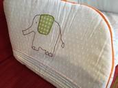 £10 Glo Company Crib Half Bumper