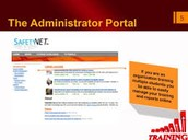 The Administrator Portal