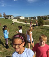 Our class enjoyed going on a rock hunt this week!