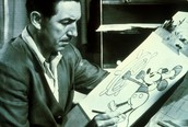 His biggest accomplishment was creating the famous Disney character, Mickey Mouse
