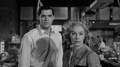 John Gavin as Sam Loomis and Vera Miles as Lila Crane