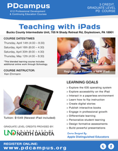 Teaching with iPads - April/May 2016