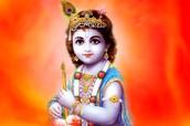 Why Krishna is blue?