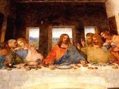 La ultima cena, echa por Leonardo