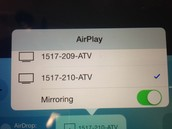 Turning On AirPlay