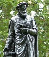 Statue of William Tyndale