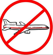 no flying