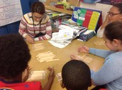 Effective small group math instruction in Kim Correiro's fifth grade room.