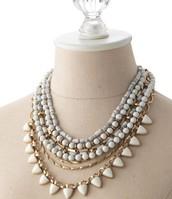 Sutton Necklace-White Gold