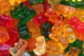 We have Gummie bears