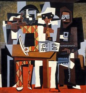 Los tres músicos.