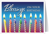 Birthday Blessings this Week