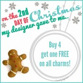 On the 2nd day of Christmas my Designer gave to me