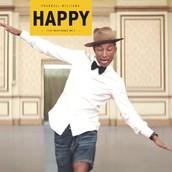 """Happy"" By: Pharrell Williams Lyrics"