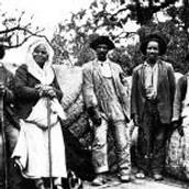 Slaves shown in Savannah during Civil War