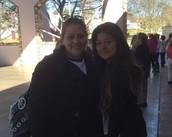 Ms. Bolanos and Alondra