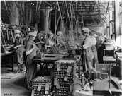Women working in factories
