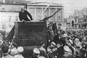 Vladimir Lenin's Bolshevik Party Seize Power - November 1917