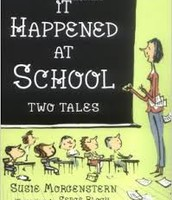 It happened at school by Susie Morgenstern