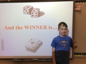 Our winners of the Estimation Station