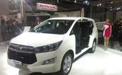 5) Toyota Innova Crysta