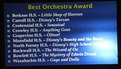 Best Orchestra Award Nominees