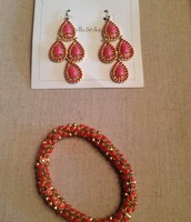 Coral and Pink