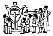 School Mass and Weekly Mass