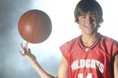Zac in High School Musical