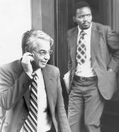 Donald Woods and Steve Biko