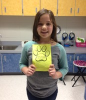 Rian's classmates voted her Student of the Month because she is a good friend and is respectful!