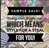 VIP Sample Sale (50% off most items), Friday 22nd Jan, Open House @ Cat's