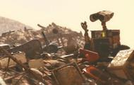 Wall-E y la basura.