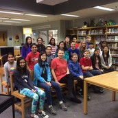 Harmony Middle School Class Spelling Bee Champions