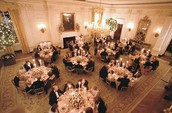 Party in the State Dining Room