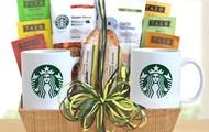 Starbucks tea and coffee