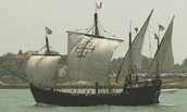 The voyage of Christopher Columbus