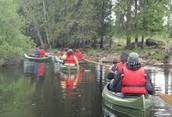 kayakki reissu
