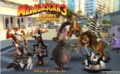 Movie 3:Madagasgar Europe Most Wanted