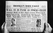 Wall Street Panics as Stock Crash