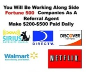 Work along side fortune 500 companies!