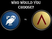Who's better? Athens or Sparta?