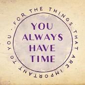 Não tem tempo?