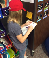 Around the Room Math (and Hat Day!)