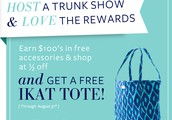 Earn a FREE Ikat Tote!