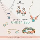 Great Pieces under $50!