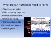 the 4 different categories for hurricanes
